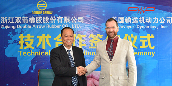 Double Arrow and United State CDI Company Signed the Technical Collaboration Agreement