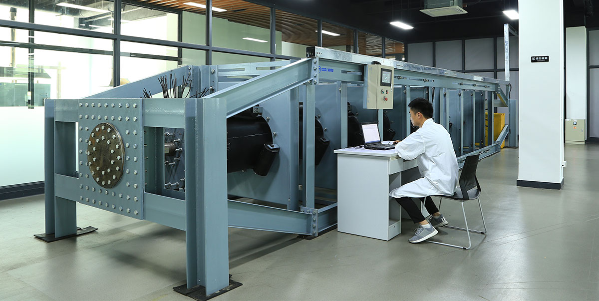 Pipe Conveyor Belt Rigidity Test Device