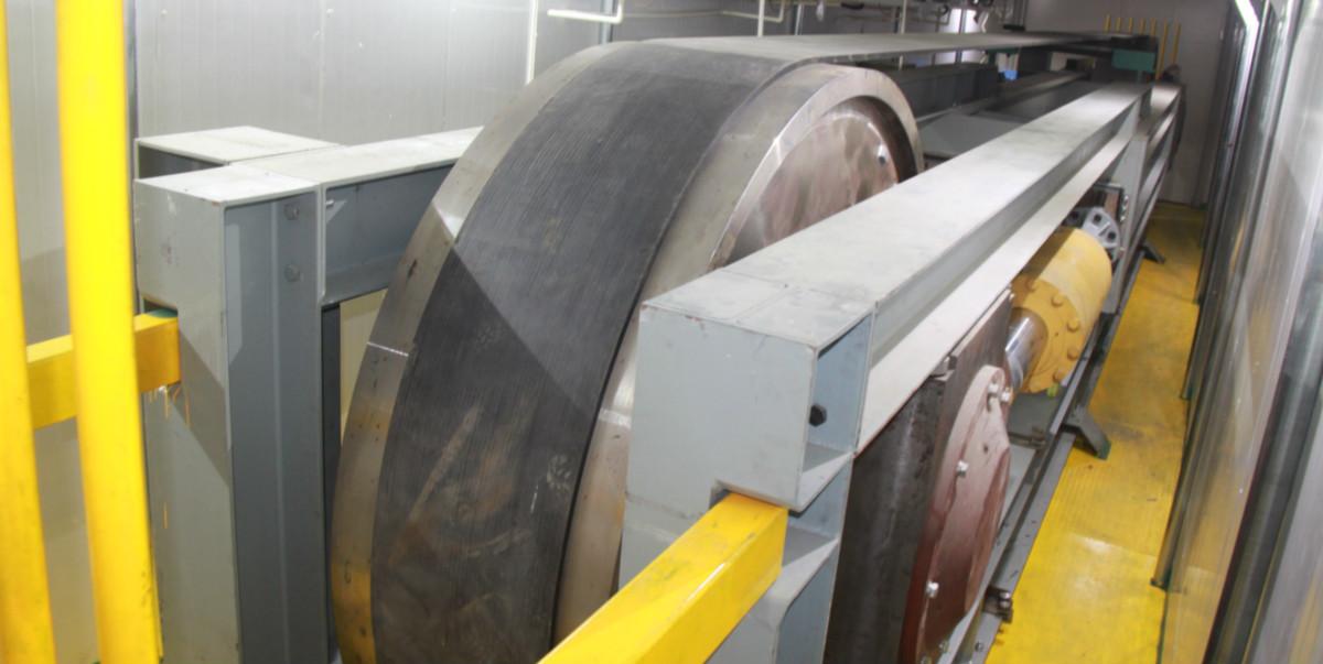 Low Rolling Resistance Dynamic Splice Fatigue Test Machine