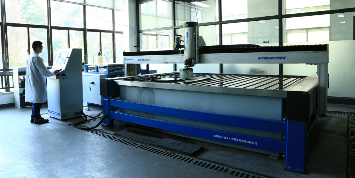 A16-3020BA CNC Ultrahigh Pressure Water Cutting Machine