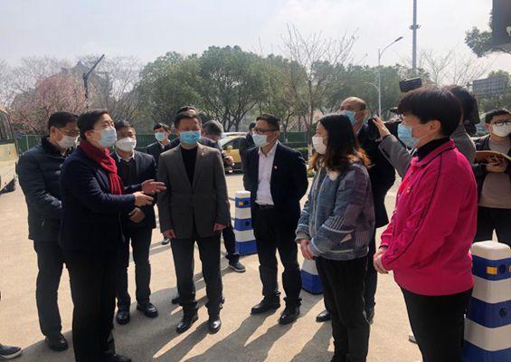 浙江省人民政府副省長王文序壹行蒞臨雙箭子公司走訪調研